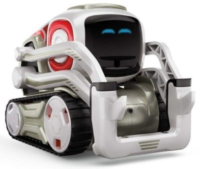 This is an image of boy's Educational toy robot by ANKi in silver color