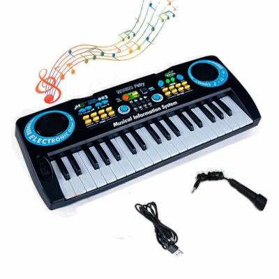 This is an image of a kid's musical electronic keyboard.