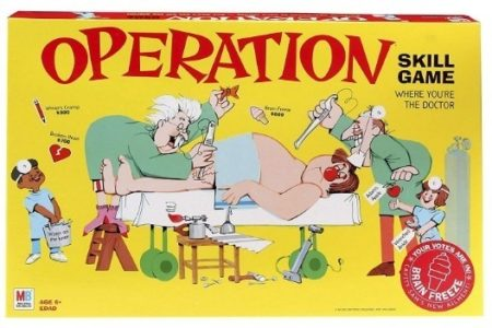 This is an image of boys electronic board game named operation