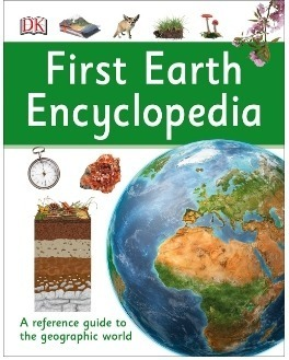 This is an image of boy's book first earth encyclopedia