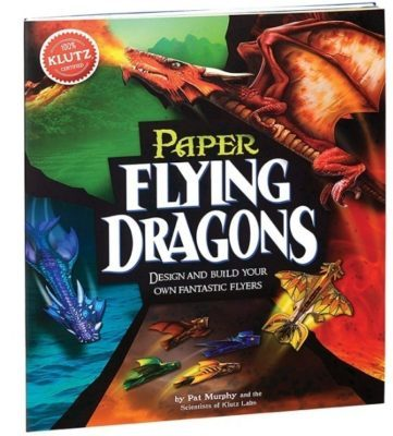 This is an image of kid's flying dragons craft kit