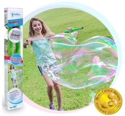 This is an image of girl's giant bubble wands kit