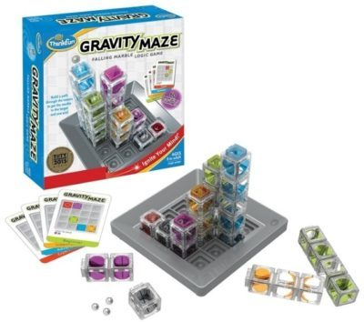This is an image of kid's logic game gravity maze