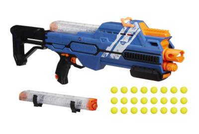 This is an image of a Hypnos Nerf gun.