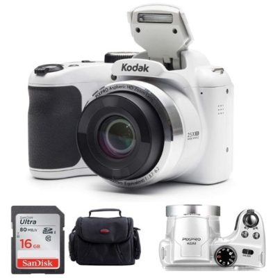 This is an image of teen's kodak digital camera in white color