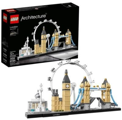 This is an image of kid's LEGO architecture london skyline
