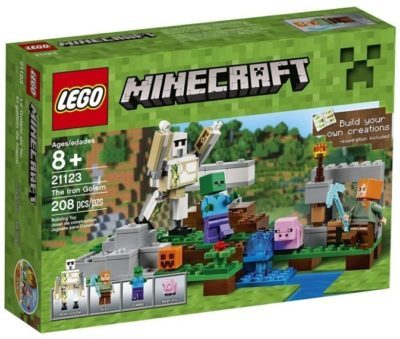 This is an image of kid's LEGO minecraft