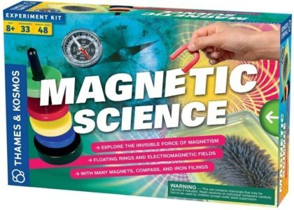 This is an image of boy's magnetic science kit