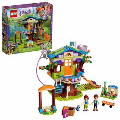 This is an image of a tree house building set for kids.