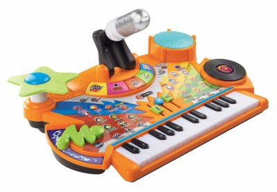 This is an image of an orange kid's studio by VTech.