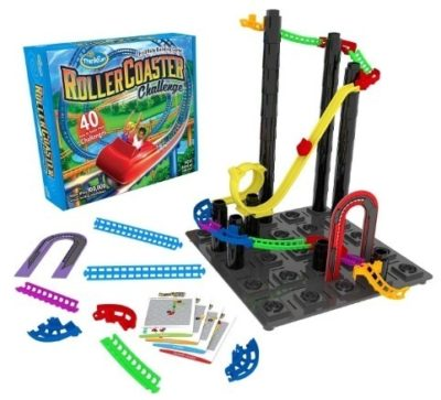 This is an image of boy's Roller Coaster building game