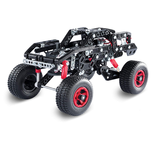 this is an image of a meccano off road racer car