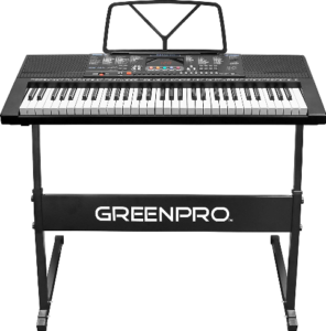 this is an image of a greenpro keyboard