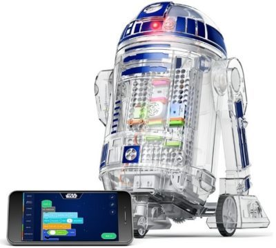 This is an image of kid's starwars droid inventor kit