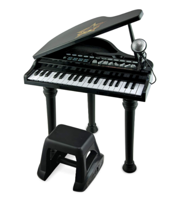 This is an image of a 37 key grand piano for kids.