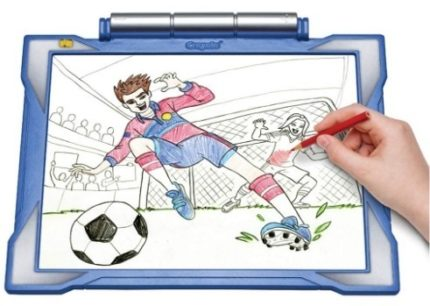 This is an image of boys tracing pad in blue color