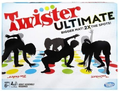 This is an image of kid's twister ulitmate party board game