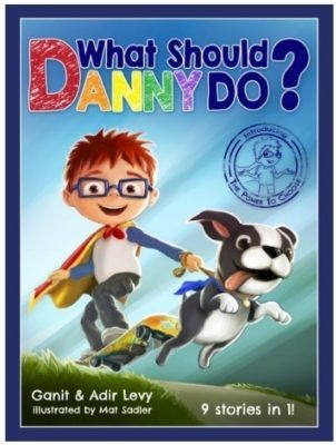 This is an image of boy's book named what should danny do ?