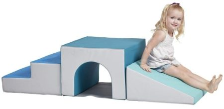This is an image of toddler's foam climber with one single tunnel