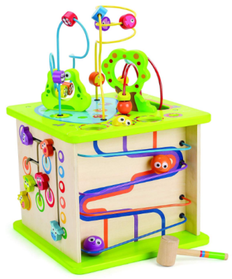this is an image of babies critters wooden Activity in colorful colors