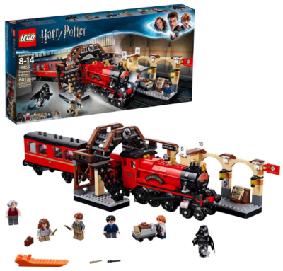 this is an image of boy's lego harry potter in colorful colors