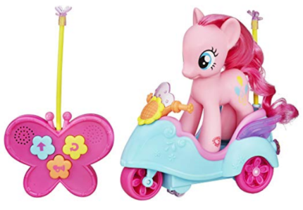 this is an image of girl's pony pinkie pie in pink color