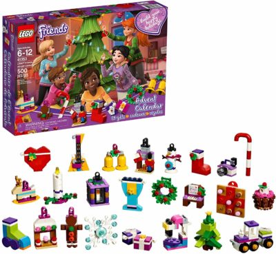 This is an image of Lego Advent Set