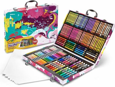 This is an image of a art coloring kit