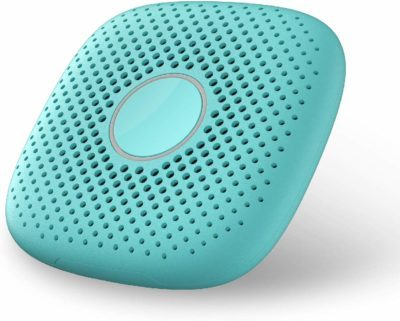 This is an image of a light green speaker walkie talkie toy