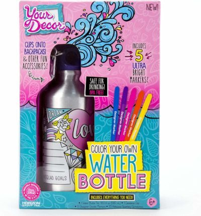 This is an image of art design water bottle
